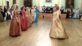 Bath Minuet Ball Demo 2013, Dance 3