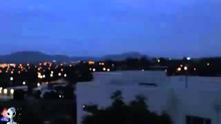 Alien Portal Appears Over Australia During Lightning Storm