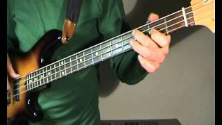 The Zombies - She's Not There - Bass Cover