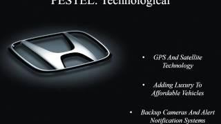 PESTEL Analysis of Honda