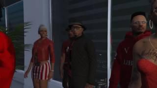 Jim Jones - Harlem Ft. ASAP Ferg ( GTA 5 Music Video )