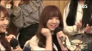 러블리즈 케이와 베이비소울의 '오빠야' 애교 대결 (Lovelyz Kei&Babysoul)
