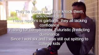Futuristic - The Greatest (Lyrics) Explicit