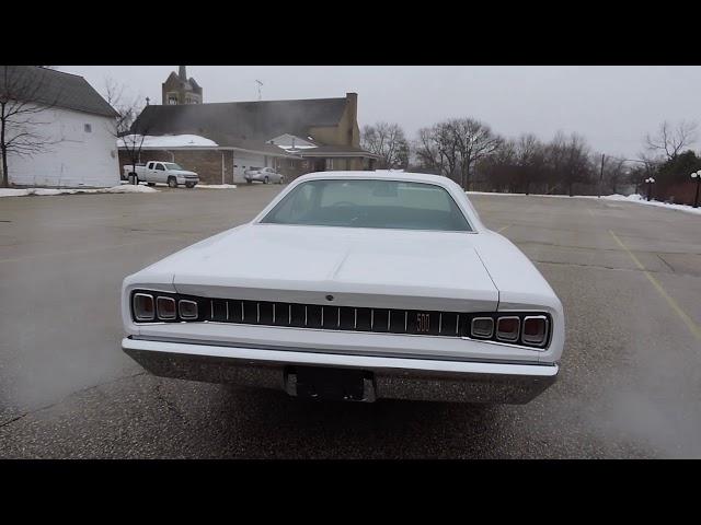 1968 dodge coronet 500 video