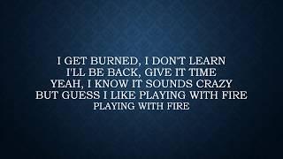 Thomas Rhett ft. Jordan Sparks - Playing with Fire Lyrics
