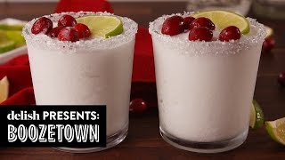 5 Holiday Drinks That Will Get Your Party Lit | Boozetown | Delish | Ep 8