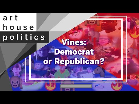 Vines Sorted By Democrat or Republican (RIP U.S.A.)