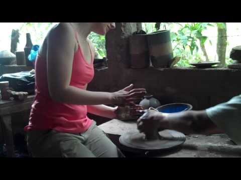 Pottery in Nicaragua