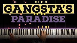 GANGSTA'S PARADISE - EPIC PIANO MUSIC