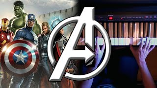 The Avengers - Main Theme on Piano | Rhaeide
