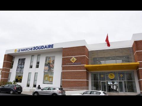 Grande affluence au marché Solidaire de Casablanca