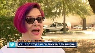 Calls to stop ban on smokable marijuana