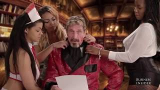 John McAfee tells the inside story behind his outrageous viral video