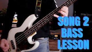 Blur Song 2 bass lesson