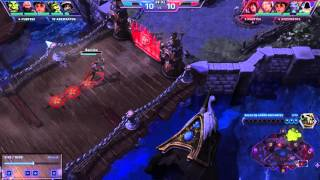 Heroes of the storm GODLIKE KILL