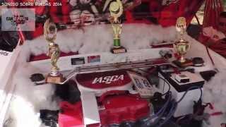 Mazda 323 tuning, Sonido Sobre Ruedas 2014, Medellin, Video HD