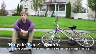 Queen-Bicycle Race (LITERAL Music Video)