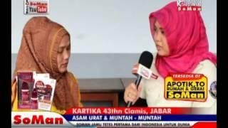 Soman - Asam Urat & Muntah-muntah ( Kartika ) @ Kesaksian # Watch On Soman Youtube