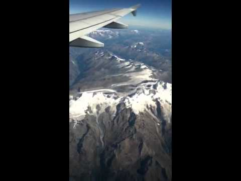 Mt.Everest from a plane