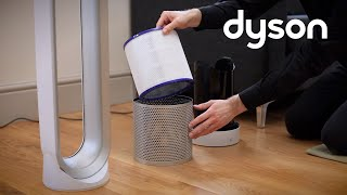 Dyson Pure Cool Link tower purifier fan - Replacing the filter (US)