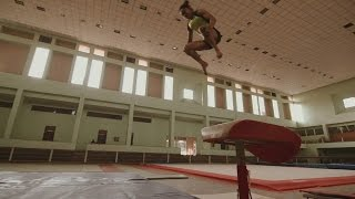 Com medalha e salto mais perigoso da ginástica, indiana vira celebridade em seu país