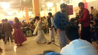 chal hat hat dj song dance with mardan dancer  wara and collage width=
