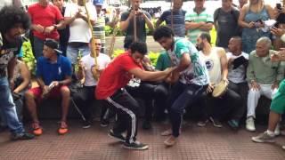Roda de capoeira na Praca da Republica 24.01.2016 parte 8