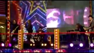 Arash - She Makes Me Go (Live) + Sean Paul in the background