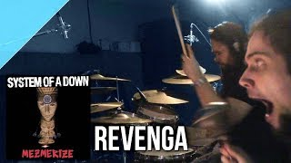 "System of a Down - ""Revenga"" drum cover by Allan Heppner"