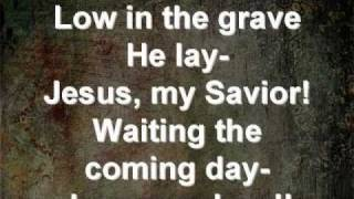 Christ Arose - Hymn live with lyrics (Resurrection Sunday 2011)