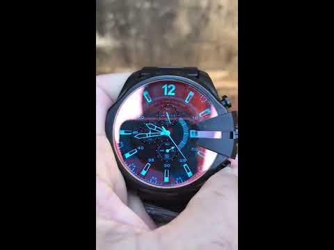 Relógio Diesel 10 BAR - Mega Chief Black - Camaleão