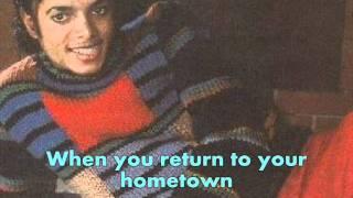 Michael Jackson - Farewell My Summer Love (Lyrics)