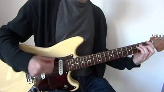 Green Day - Brain Stew/Jaded guitar cover