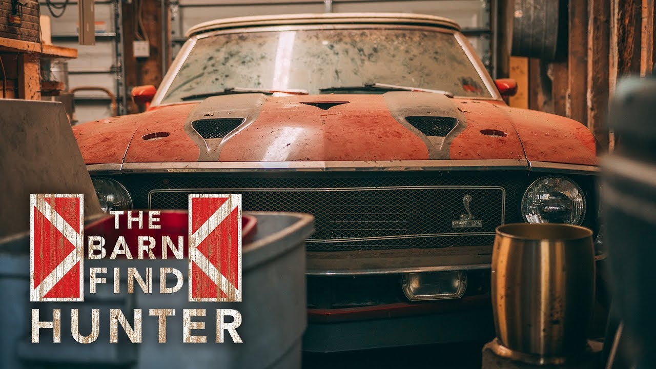 Barn Find Hunter: X-ray vision leads to a Shelby GT500 convertible barn find