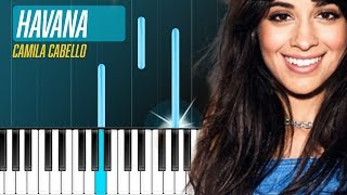 "Camila Cabello - ""Havana"" Piano Tutorial - Chords - How To Play - Cover"