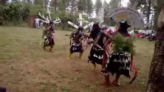 Diamond creek Apache crown dancers