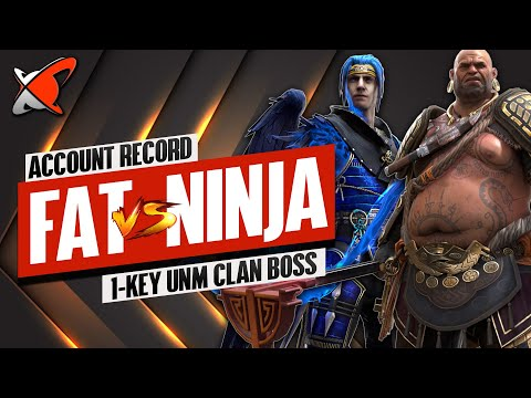 NINJA WAS OUTMATCHED... FOR NOW? | My New Record 1-Key UNM CB Team | RAID: Shadow Legends