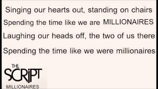 The Script - Millionaires lyrics