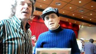 Présentation d'un disque de Dick Rivers vinyle 33 tours (les années soixante)