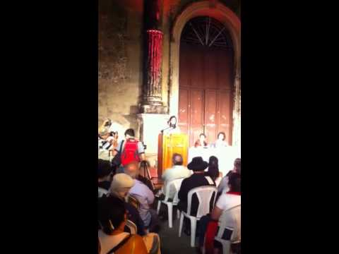 Octavo Festival international de poesia. Granada, Nicaragua