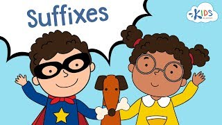 Suffixes: -ful, -less, -ly, -able