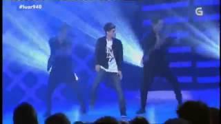 Abraham Mateo ~ Señorita [Live Luar TVG 2014]