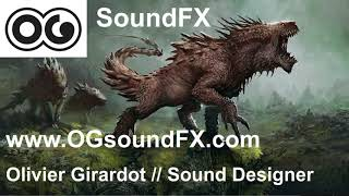 Monster Attacks Sound FX by Olivier Girardot