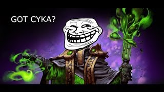 Dota 2 Troll - Meet the russians - Got cyka? epic gaming