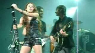 """Miley Cyrus - """"7 Things"""" live September 16, 2009 - Tacoma, WA"""