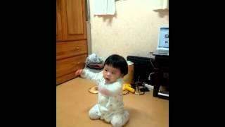 희영이 강남스타일 10month baby's GANGNAM Style Dance
