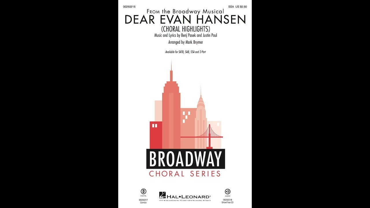 Dear Evan Hansen Musical Tour Dates New York City March