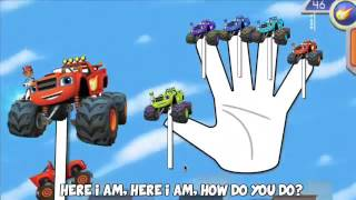 [Mickey Mouse Mommy] : Blaze and the Monster Machines Finger Family Animation Nursery Rhyme Song