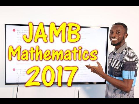 JAMB CBT Mathematics 2017 Past Questions 1 - 12