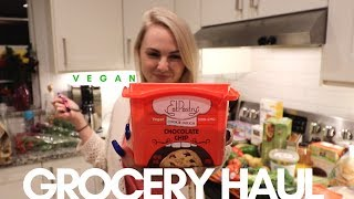VEGAN FOOD HAUL | COOKIE DOUGH